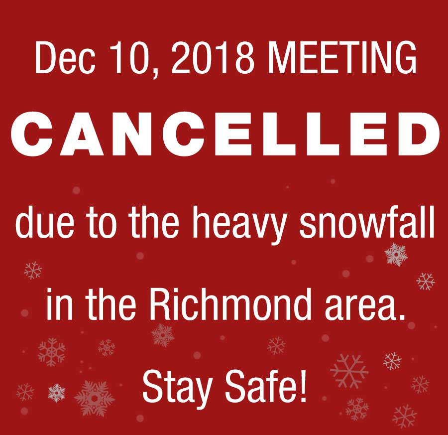 CANCELLED MEETING DEC 10 2018