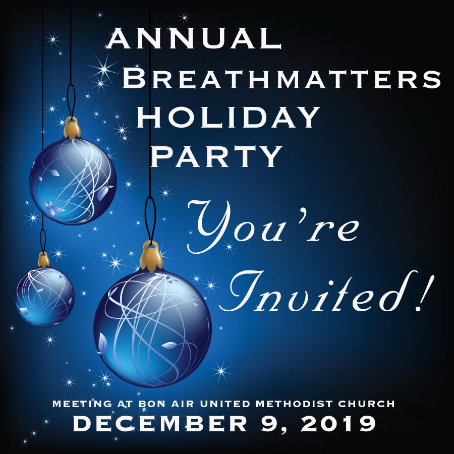 Breathmatters December Holiday Party 2019