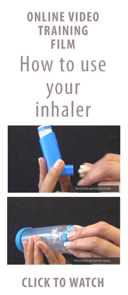Using an Inhaler Online Video